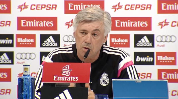 "Ancelotti: Juve? ""Jetzt zählt nur Valencia"""