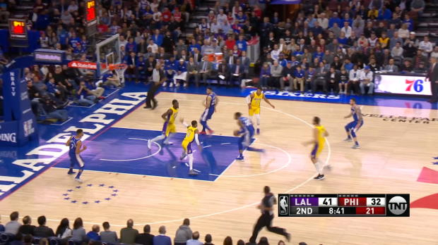 Assist of the Night: Ben Simmons