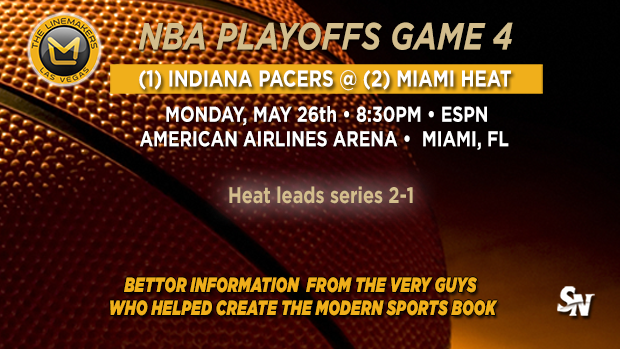 Pacers @ Heat Game 4