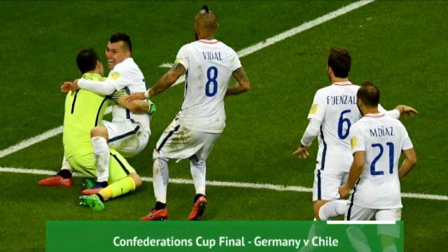 كرة قدم: نهائي كأس القارات 2017: ألمانيا – تشيلي.. إعداد أوبتا