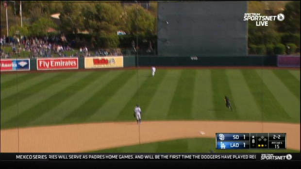 Galvis' solo home run to center