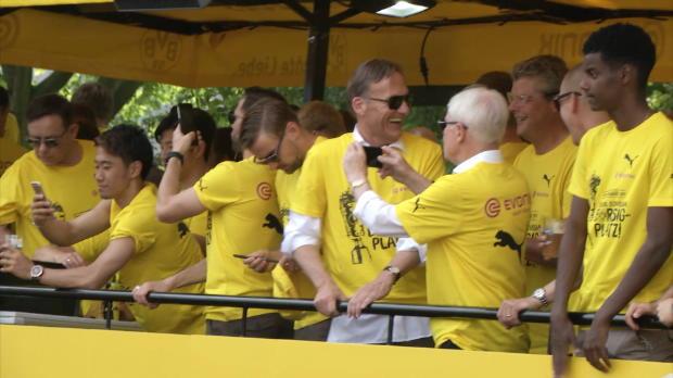 Ausnahmezustand in Dortmund! BVB feiert Pokal