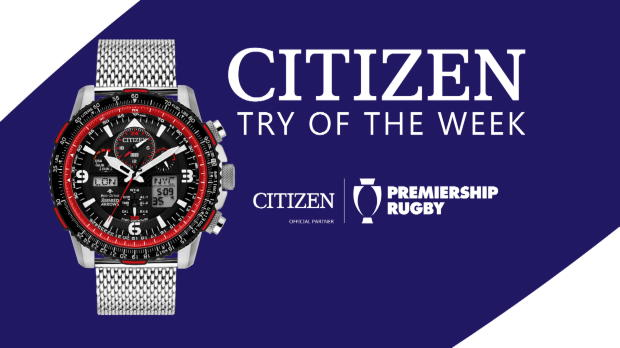 Aviva Premiership : Aviva Premiership - Citizen Try of the Week - Round 12