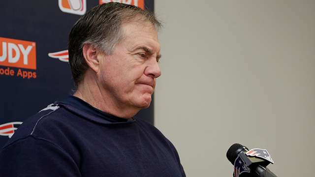 What will Bill Belichick be saying following game vs. the Steelers