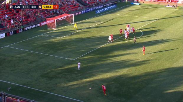 A-League: Keeper-Tätlichkeit in letzter Sekunde