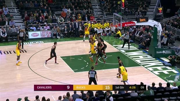 GAME RECAP: Bucks 108, Cavaliers 92