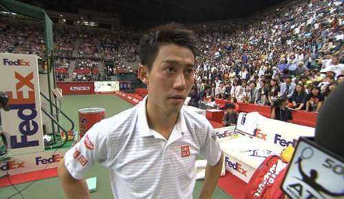 Nishikori Interview: ATP Tokyo SF
