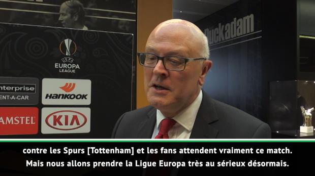 16es - Miles - 'Prendre la Ligue Europa très au sérieux désormais'