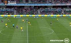 Daniel De Silva struck in just the second minute against Wellington Phoenix to net his first ever Hyundai A-League goal.