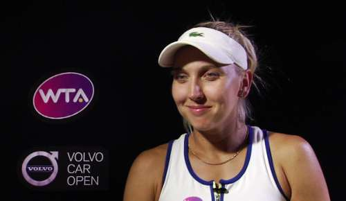 Vesnina Interview: WTA Charleston QF
