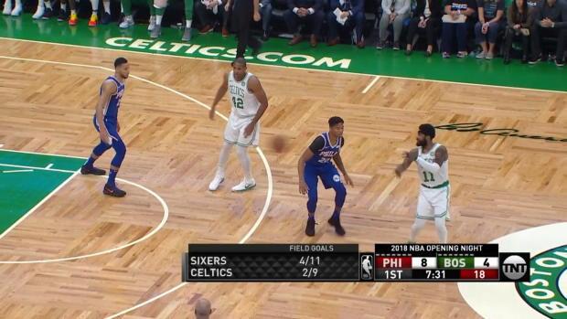 WSC: Joel Embiid, Jayson Tatum Highlights from Boston Celtics vs. Philadelphia 76ers, 10/16/2018
