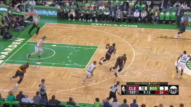 GAME RECAP: Cavaliers 135, Celtics 102