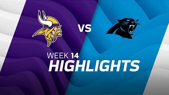 Vikings vs. Panthers highlights | Week 14
