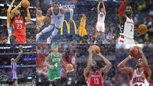 Basket : NBA - Saison régulière - 8 joueurs à plus de 50 points, un record !