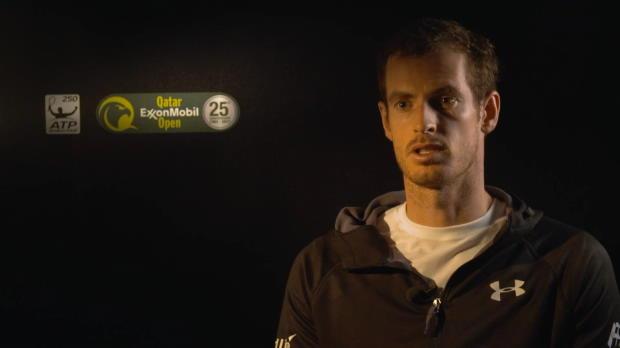 Doha: Murray: Klasse, Federer zurück zu haben