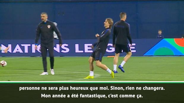 Ballon d'Or - Modric reste relax