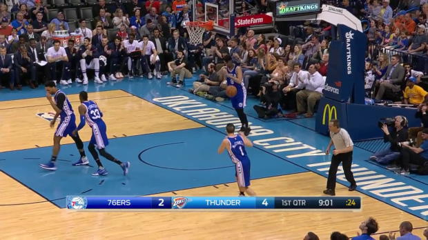 WSC: Russell Westbrook posts 18 points, 14 assists & 11 rebounds vs. the 76ers