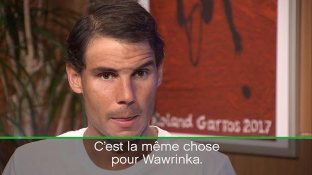 : Roland-Garros - Nadal - 'Pas plus important que mes précédentes finales'