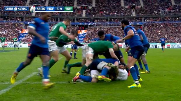 Medard Great take France v Ireland 13th February 2016