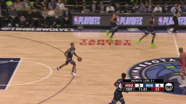 WSC: Chris Paul 25 points vs the Timberwolves
