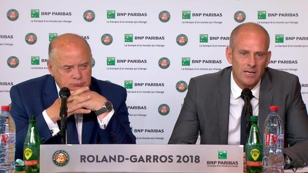 : Roland-Garros - Forget - 'La sanction est lourde pour les joueurs français'