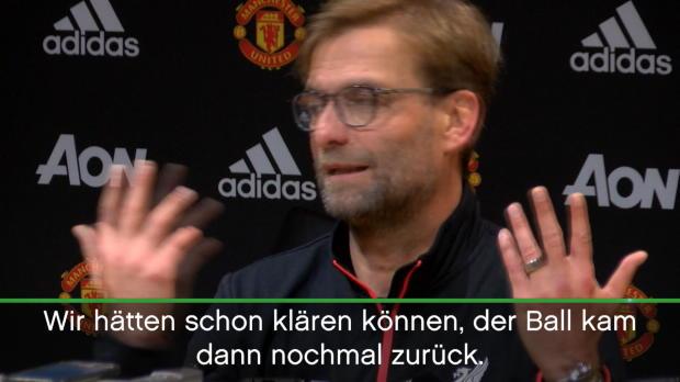 """Klopp: """"Hätten Sieg verdient gehabt!"""""""