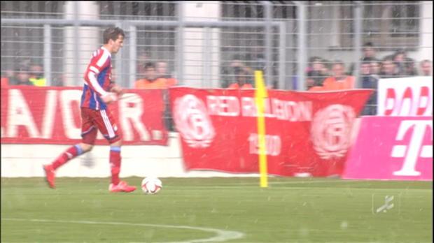 4. Liga: Derbysieg! FCB jubelt nach Traumtor