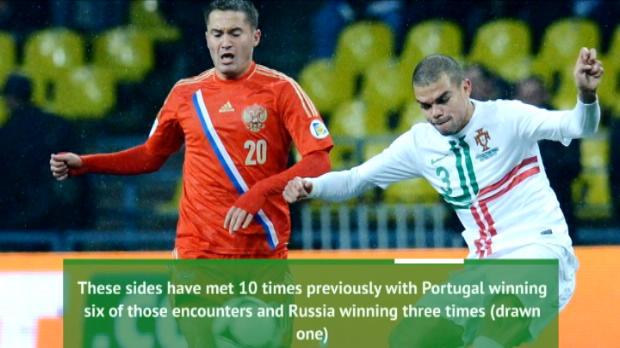 كرة قدم: كأس القارات: تقديم موقعة البرتغال × روسيا