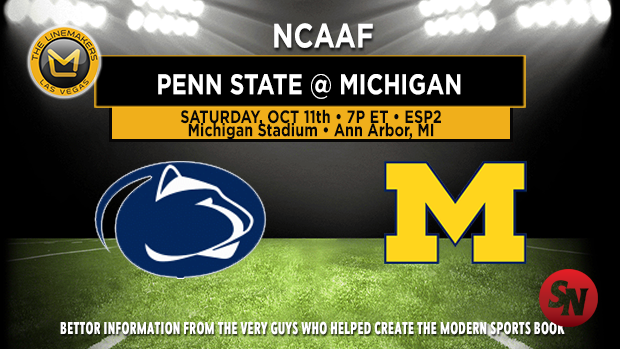 Penn State Nittany Lions @ Michigan Wolverines