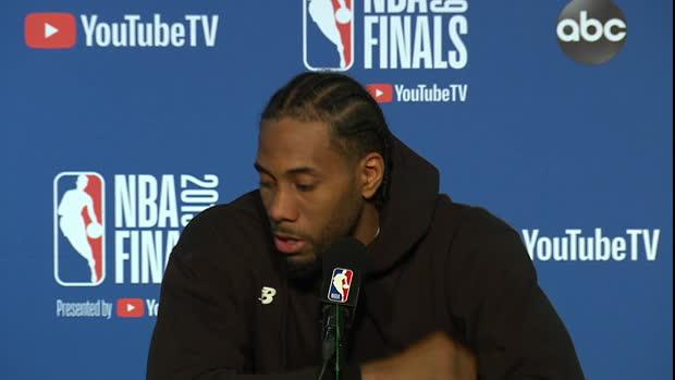 """Basket : Finals - Leonard - """"Un pas de plus vers notre objectif"""""""