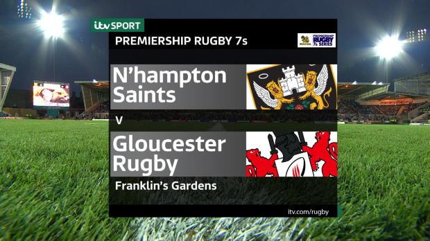 Aviva Premiership - Match Highlights - Northampton Saints 7s v Gloucester Rugby 7s