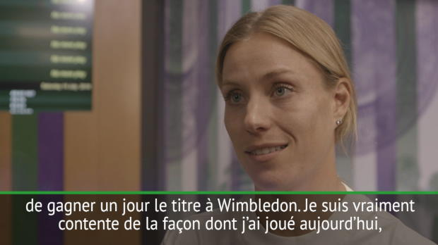 "Tennis : Wimbledon - Kerber - ""J?ai toujours rêvé de ce moment"""