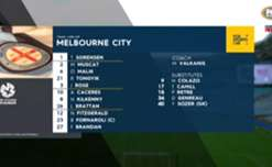 Melbourne City recorded a resounding 5-1 win over Wellington at Westpac Stadium on Saturday night.