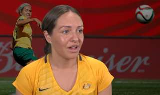 Kyah Simon says the Westfield Matildas are dreaming big, targeting the world's number 1 ranking in years to come.