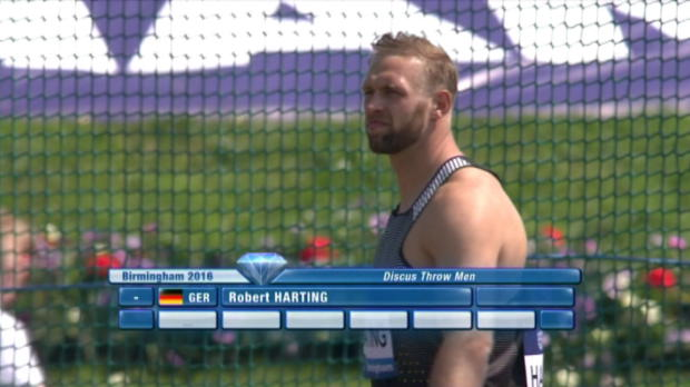 Diamond League: Harting knackt Olympia-Norm