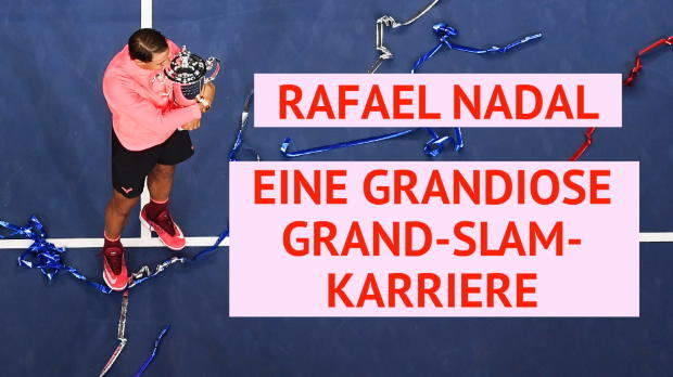 Rafael Nadals grandiose Grand-Slam-Karriere