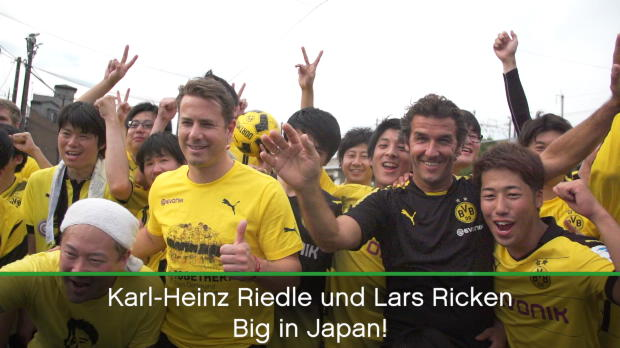 BVB-Helden Riedle und Ricken: Big in Japan!