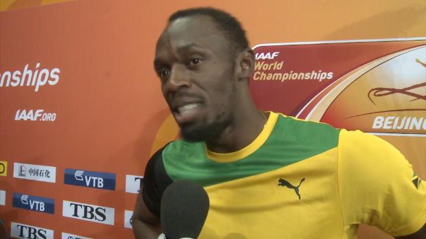 WM 2015: Bolt: Amerikaner viel zu gestresst