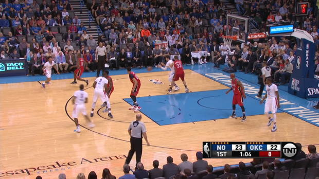 And-1 of the Night: Serge Ibaka