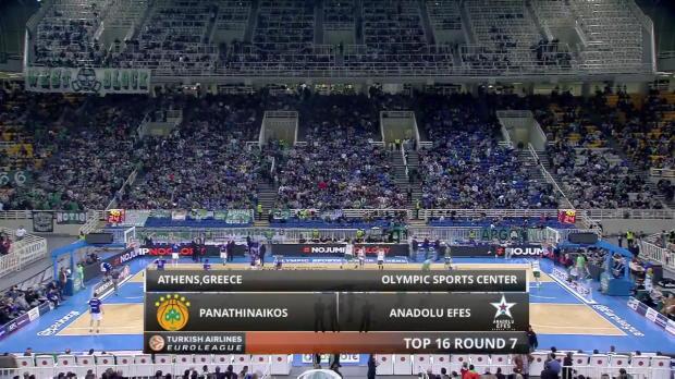 Highlights-Panathinaikos-Athens-Anadolu-Efes-Istanbul
