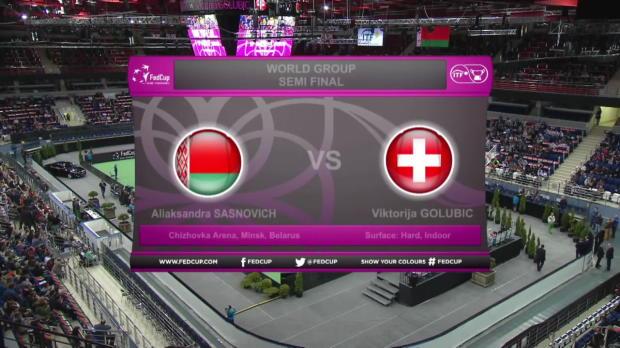 Fed Cup: Weißrussland - Schweiz