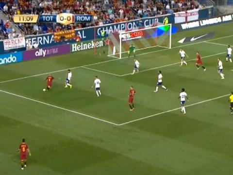 كرة قدم: كأس الابطال الدولية: توتنهام 2-3 روما