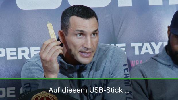 Boxen: Klitschko und der ominöse USB-Stick