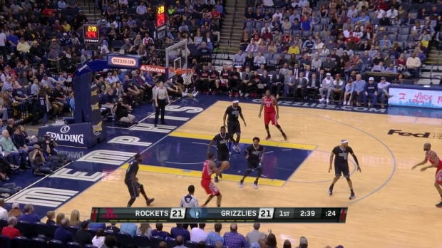 WSC: Highlights: James Harden (29 points) vs. the Grizzlies, 1/21/2017
