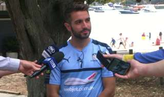 Sydney FC defender Michael Zullo is eager to keep the momentum going in the Hyundai A-League with the Sky Blues still undefeated in the competition to date.