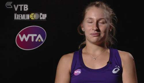 Gavrilova Interview: WTA Moscow QF