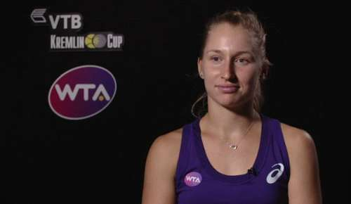Gavrilova Interview: WTA Moscow SF