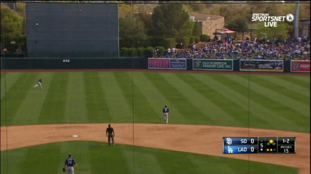 Kershaw's RBI double