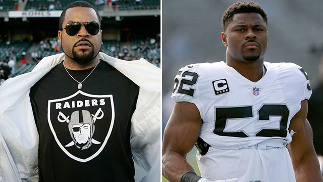 Ice Cube's message to Oakland Raiders linebacker Khalil Mack: 'Get your money, man'