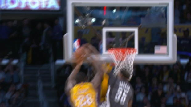 Block of the Night - Trevor Booker